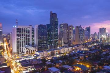 Makati: Car rentals in 6 pickup locations