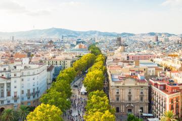 Barcelona: 23 Abholorte für Mietwagen