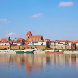 Hotele w mieście Toruń, Polska