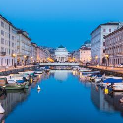 Trieste 3 hosteļi