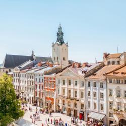 Lwów 2725 hoteli