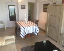 Apartment Westende with Sea View
