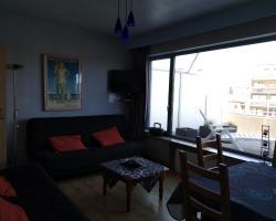 Roof Studio with Large Sun Terrace in Middelkerke