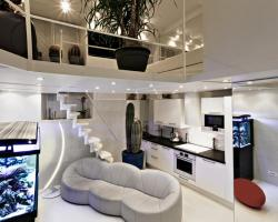 Stylish,luxury duplex Paris city center