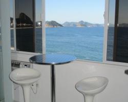 Apartamento frontal à Praia de Copacabana