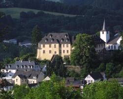Romantik Schloßhotel Kurfürstliches Amtshaus Dauner Burg