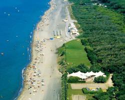 Happy Camp mobile homes in Villaggio Camping Baia Domizia