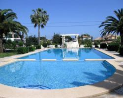 Apartment with terrace, near the beach in Denia