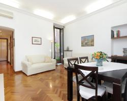 Monti Courtyard View apartment Rome