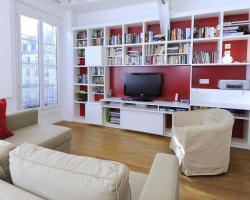 Appartement lumieux au coeur de Paris