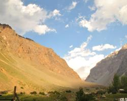 Into the Andes