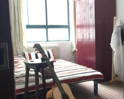 Whale & Sea Original Art Youth Hostel