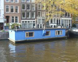 The Blue Houseboat