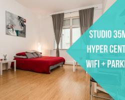 Appartement + Parking hyper Centre Gare