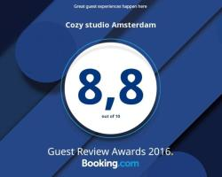 Cozy studio Amsterdam