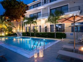 Melina Apartments Pool View