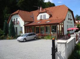 Penzion U hamru, Český Krumlov (Dobrkovice yakınında)