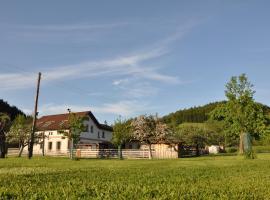 Apartmán Kamenný Dům, Jilemnice (Horní Štěpanice yakınında)