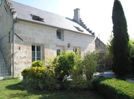 La Maison Des Chiens Rouges, Berneuil-sur-Aisne (рядом с городом Croutoy)