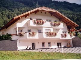 Ferienhaus Pfefferle, Arzl im Pitztal (Unterleins yakınında)