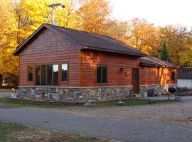 Musky Lodge Home, Phelps (рядом с регионом Ski Brule)
