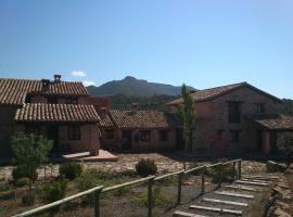 Masia los Toranes, Rubielos de Mora (Olba yakınında)
