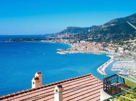 Amazing Sea Views Over the Riviera, Grimaldi (Mortola Superiore yakınında)