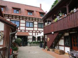 Hotel Erfurter Kreuz, Kirchheim (Ichtershausen yakınında)