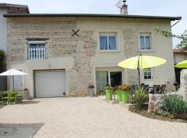 Les Trois Maisons, Druillat (рядом с городом Tossiat)