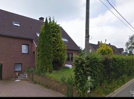 Le dortoir de l'Ecurie Du Bois Doré, Baelen (Limbourg yakınında)