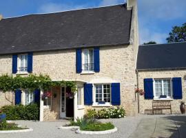 Chambres d'hôtes Les Hirondelles Bleues, Изиньи-сюр-Мер (рядом с городом Montmartin-en-Graignes)