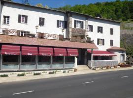 Hôtel Restaurant Le Pain de Sucre, Monistrol-d'Allier (рядом с городом Le Vernet)