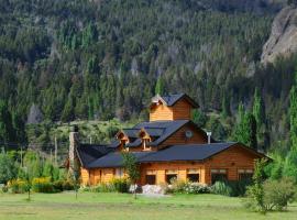 Hosteria Ruca Kitai, Villa Lago Rivadavia (La Bolsa yakınında)