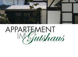 Apartment im Gutshaus, Staufenberg (Landwehrhagen yakınında)