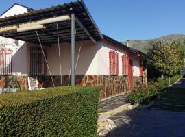 Chalet Canalejas, Otero de Herreros (рядом с городом Ortigosa del Monte)