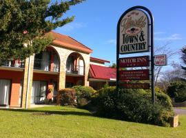 Idlewilde Town & Country Motor Inn Pambula, Pambula (Lochiel yakınında)