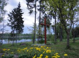 Hunters Rest House Rātnieki, Nastrova (Near Balvi Municipality)