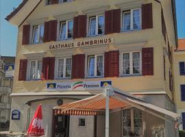 Pizzeria-Pension Gambrinus, Walzenhausen