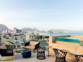 Ritz Copacabana Boutique Hotel, Рио-де-Жанейро