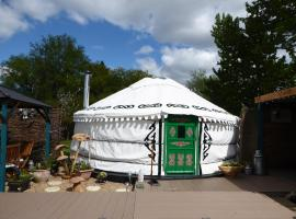 Lakeland Yurts, Hatfield Peverel (рядом с городом Little Baddow)