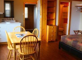 Auberge Motel 4 Saisons, Blanc-Sablon (L'Anse au Clair yakınında)