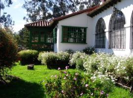 Hotel Campestre Hacienda Santa Rosalia, Duitama (Tibasosa yakınında)