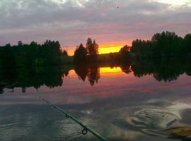 Lomakoivulehto, Koskenkylä (рядом с городом Kolkanlahti)