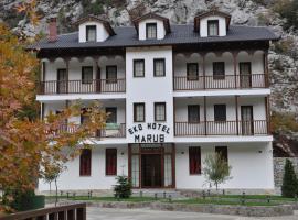 Hotel Marub, Rubik (Fushë-Milot yakınında)