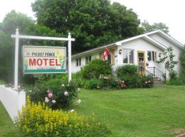 Picket Fence Motel, Saint Andrews (Bocabec yakınında)