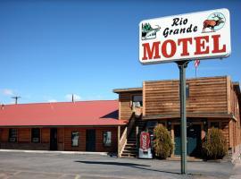 Rio Grande Motel, Monte Vista (in de buurt van Del Norte)