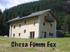 Chesa Fümm Fex, Fex