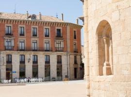 Tirso de Molina, Almazán (Cubo de la Solana yakınında)