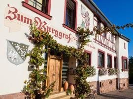 Hotel Restaurant Zum Burggraf, Neuleiningen (Kerzenheim yakınında)