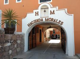 Hotel Hacienda Morales.